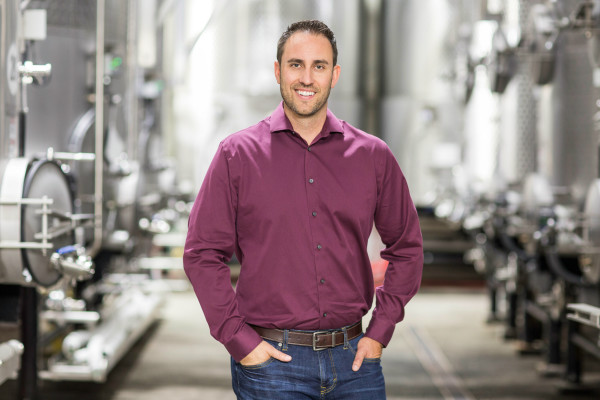 Trevor Durling is only the 5th winemaker in BV's history.
