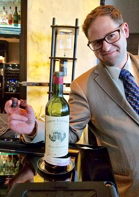 Chris Zarcadoolas leads a dazzling wine program at Michael Mina's stunning Stripsteak restaurant in Miami.
