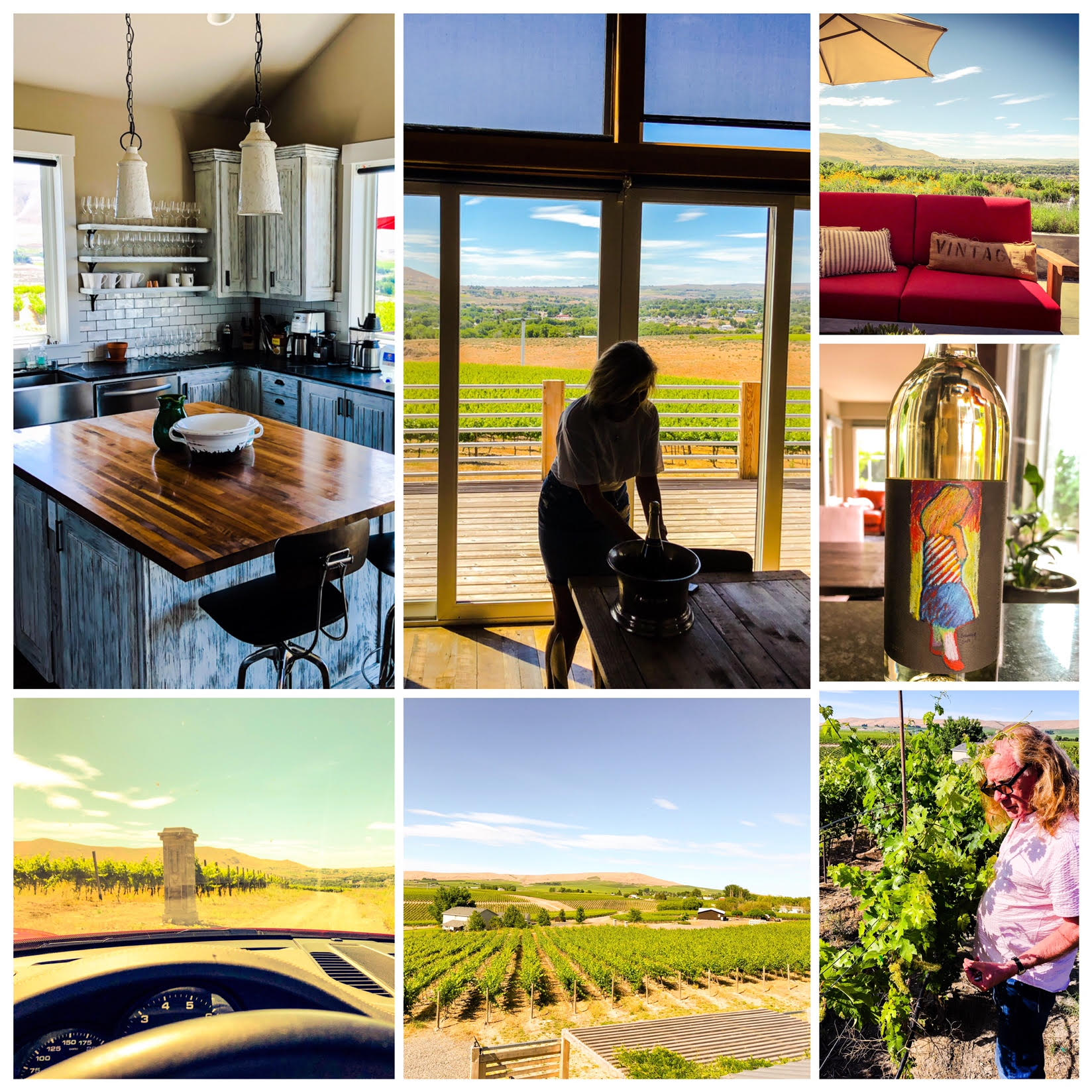 It was a memorable visit to one of the stunning wineries on the west coast, Upchurch Vineyard.