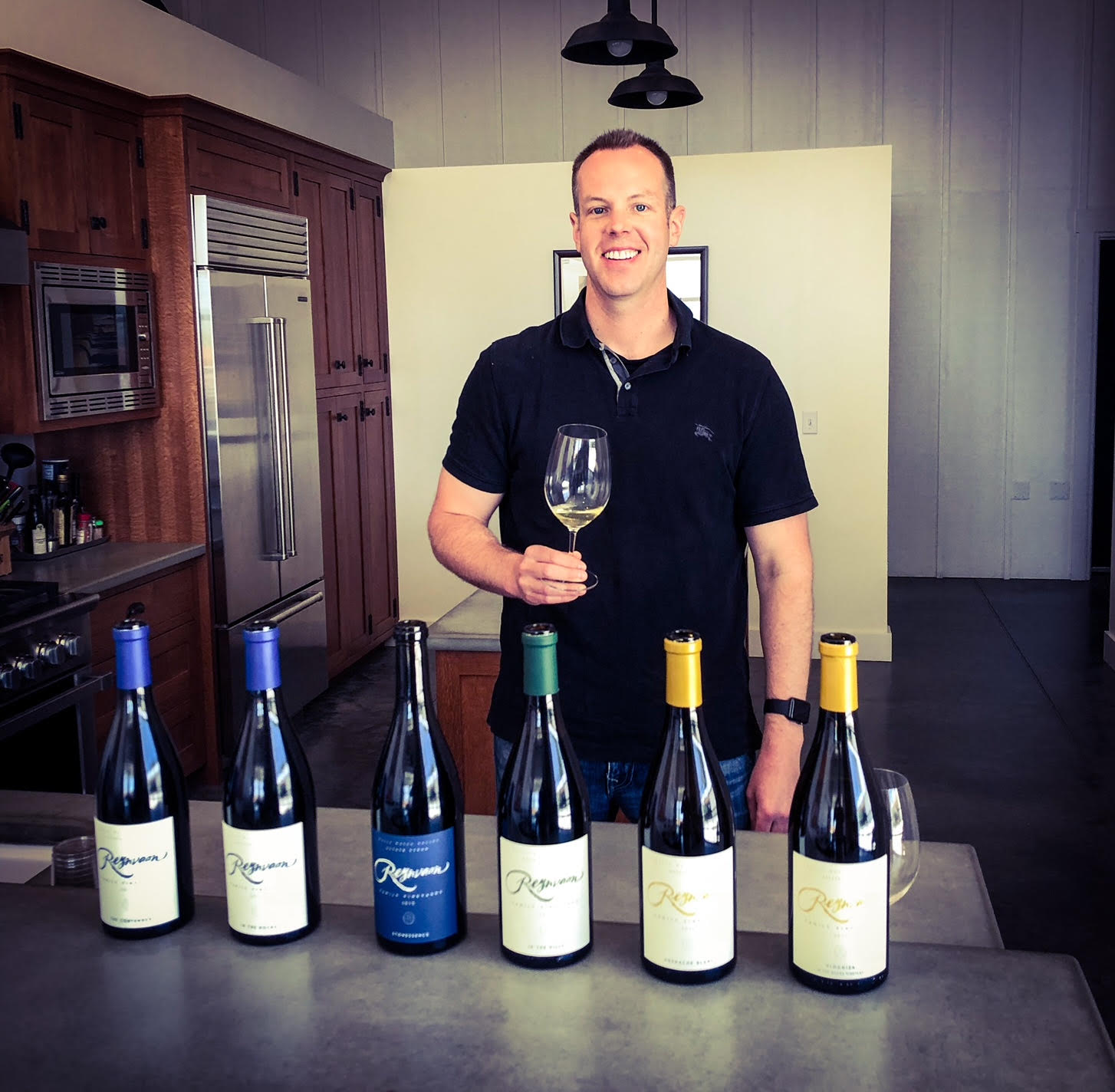 It was a great day tasting the gorgeous new wines at Reynvaan Family Vineyards.
