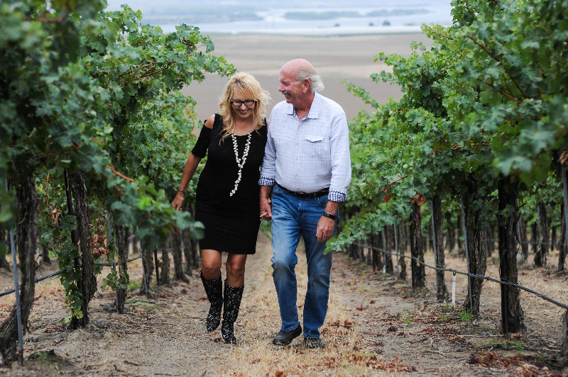 Don and Lori Watts serve as Swiftwater Cellars proprietors. They have an outstanding new lineup of wines.