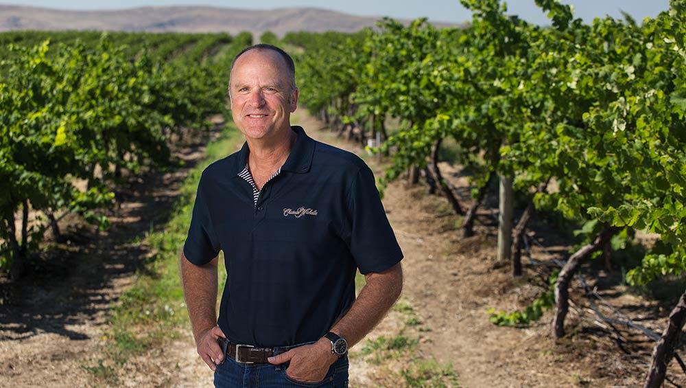 Fantastic photo here of one of Washington's great winemaking talents, Bob Bertheau.