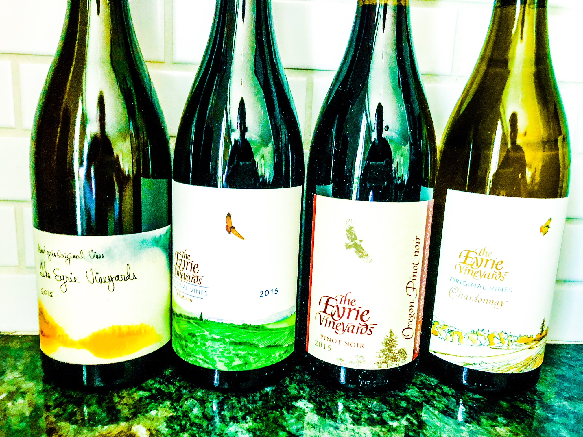 The Eyrie Vineyards 2018 wines.JPEG