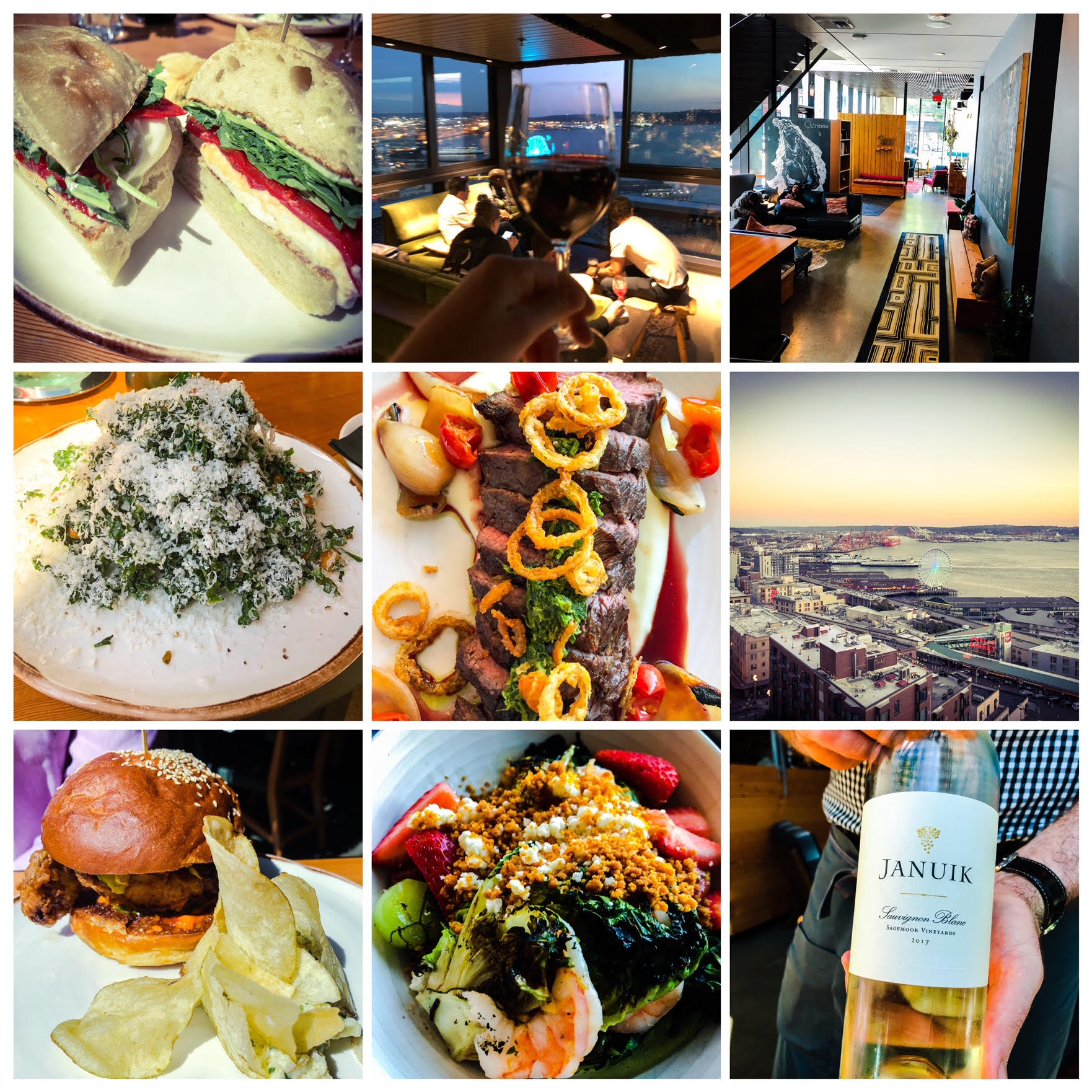 It was an amazing staycation at The Thompson Hotel Seattle