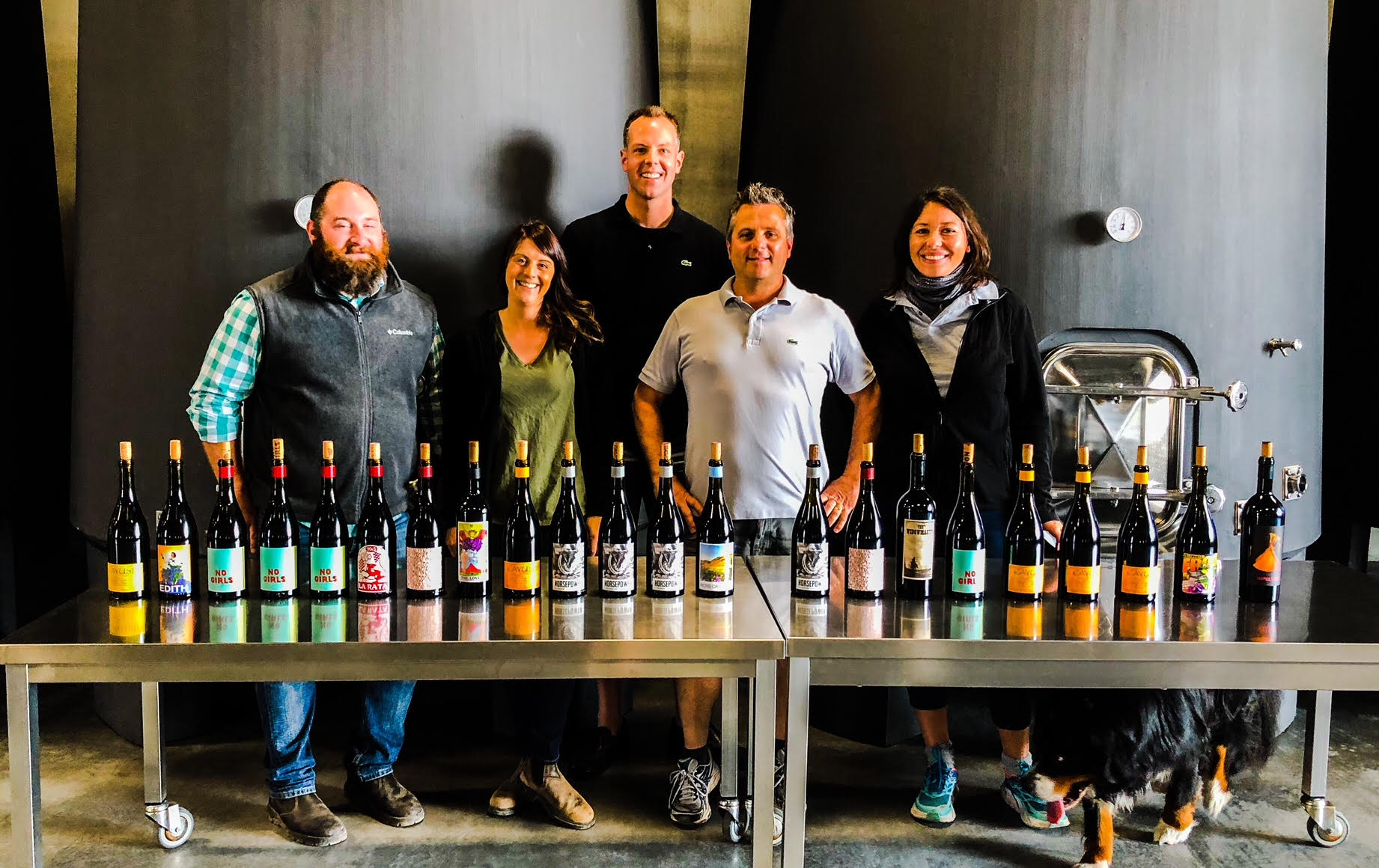 It was a tremendous opportunity tasting some older vintages with the superstar team of Cayuse Vineyards, led by eminent vigneron, Christophe Baron.