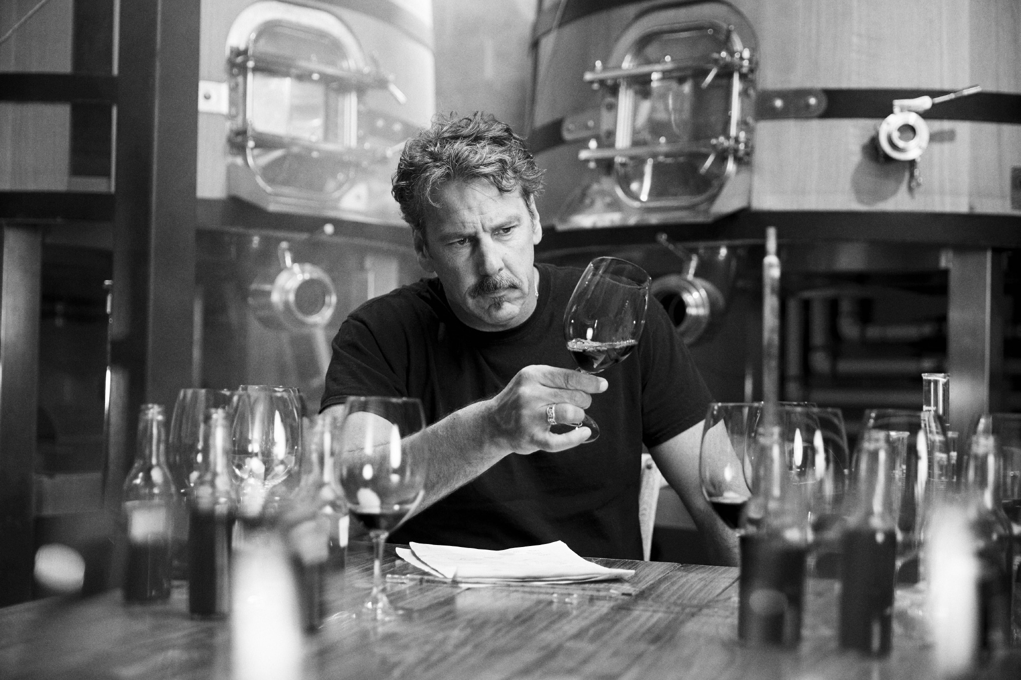 One of North America's great winemakers, Chris Carpenter crafts some stunning wines at La Jota.