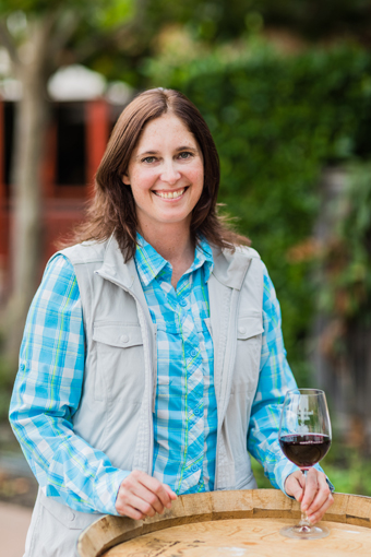 Stephanie Jacobs crafts some really good wines for Cakebread Cellars.
