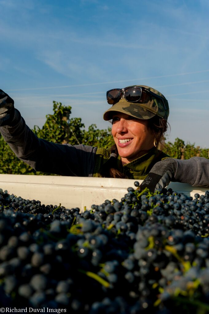Brooke Robertson is the talented director of viticulture for Delmas (photo by Richard Duval)