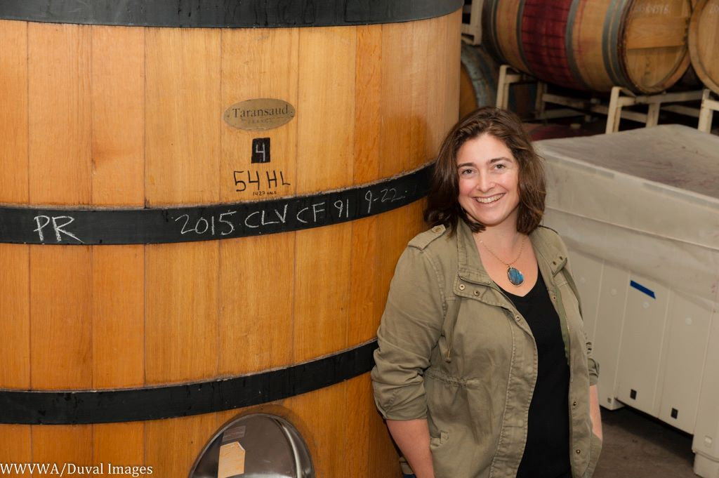 Nina Buty first started Buty Winery back in 2000 and has an outstanding new lineup of wines (photo by Richard Duval).