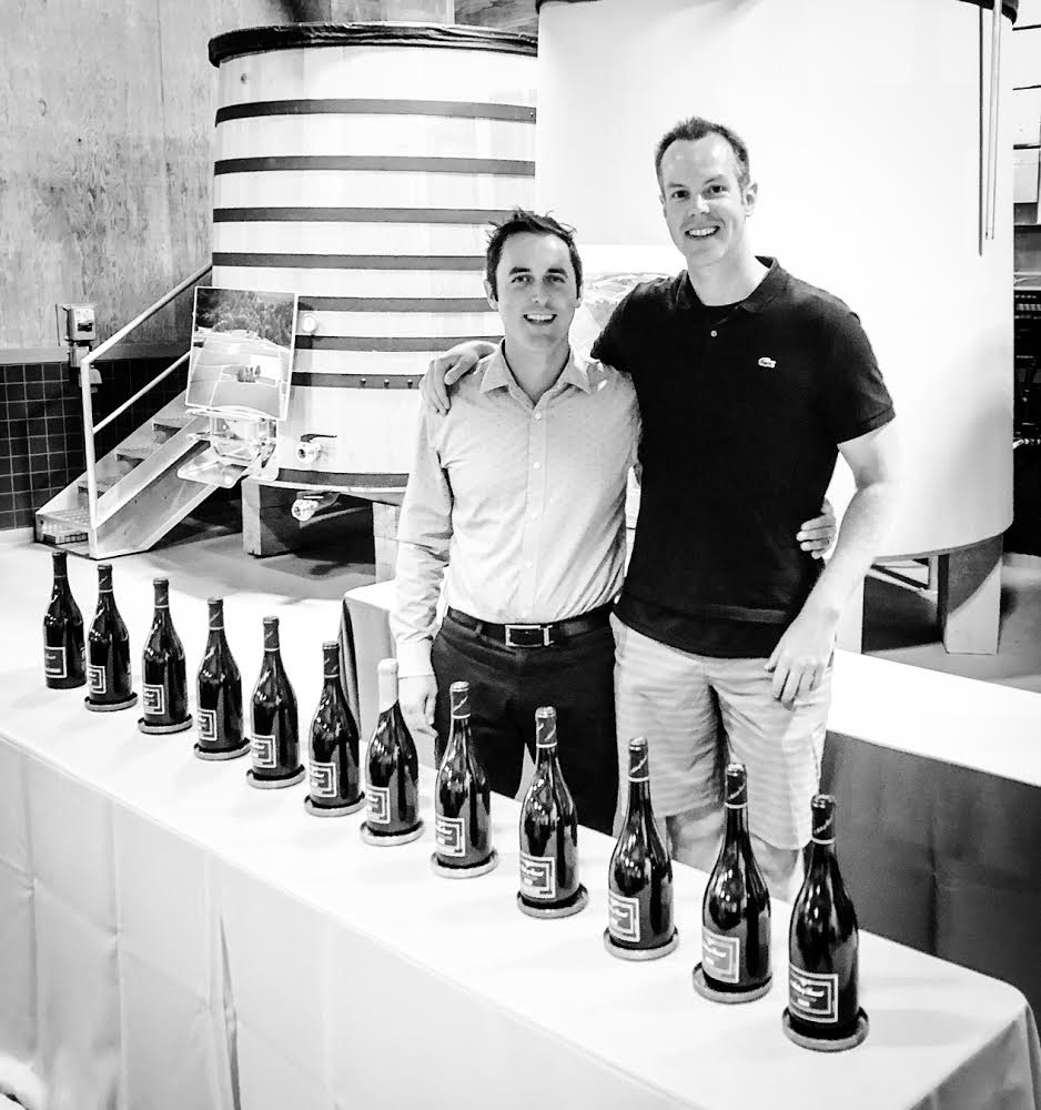 Here I am pictured with new Archery Summit winemaker, Ian Burch (L), who has crafted some outstanding new red and white wines.