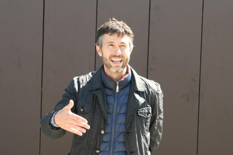 Eduardo Garcia is the highly talented winemaker behind his 'San Roman' Toro.