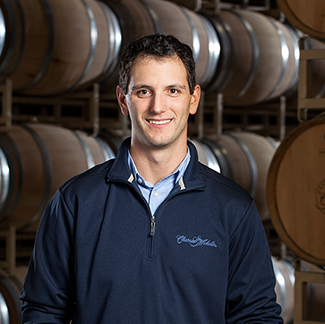 Great photo here of David Rosenthal, Chateau Ste. Michelle's talented white winemaker.