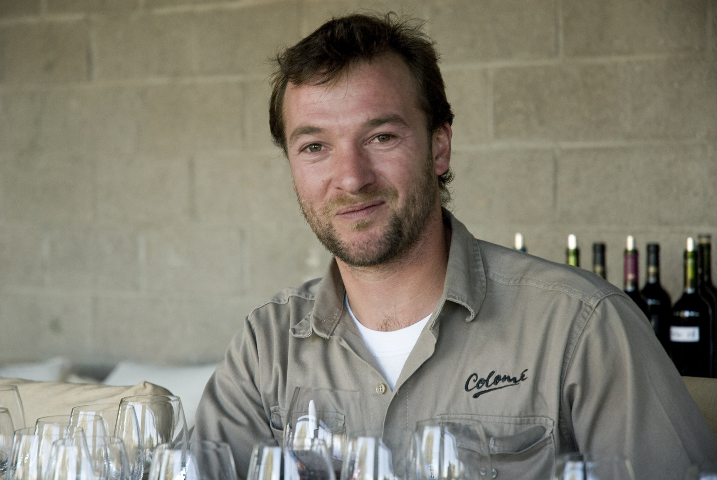 Thibaut Delmotte is the talented winemaker behind all Bodega Colome wines.