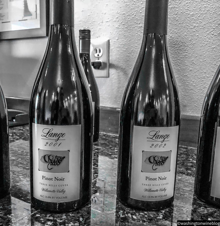Lange Estate 2001 and 2002 Pinots.jpg