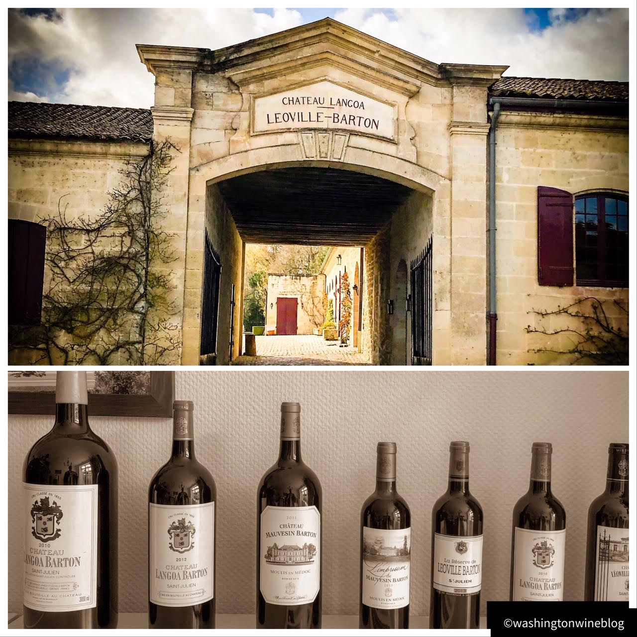 It was a marvelous visit to one of the great second growth estates in Bordeaux, Chateau Léoville-Barton.
