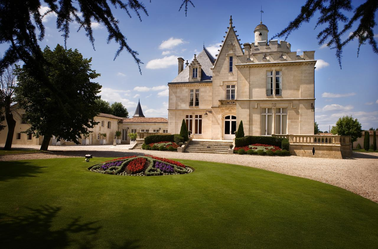 Here is the insanely beautiful Chateau Pape Clement