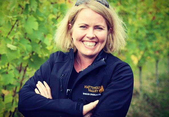 Emma Rice is the talented winemaker behind all Hattingley Valley wines.