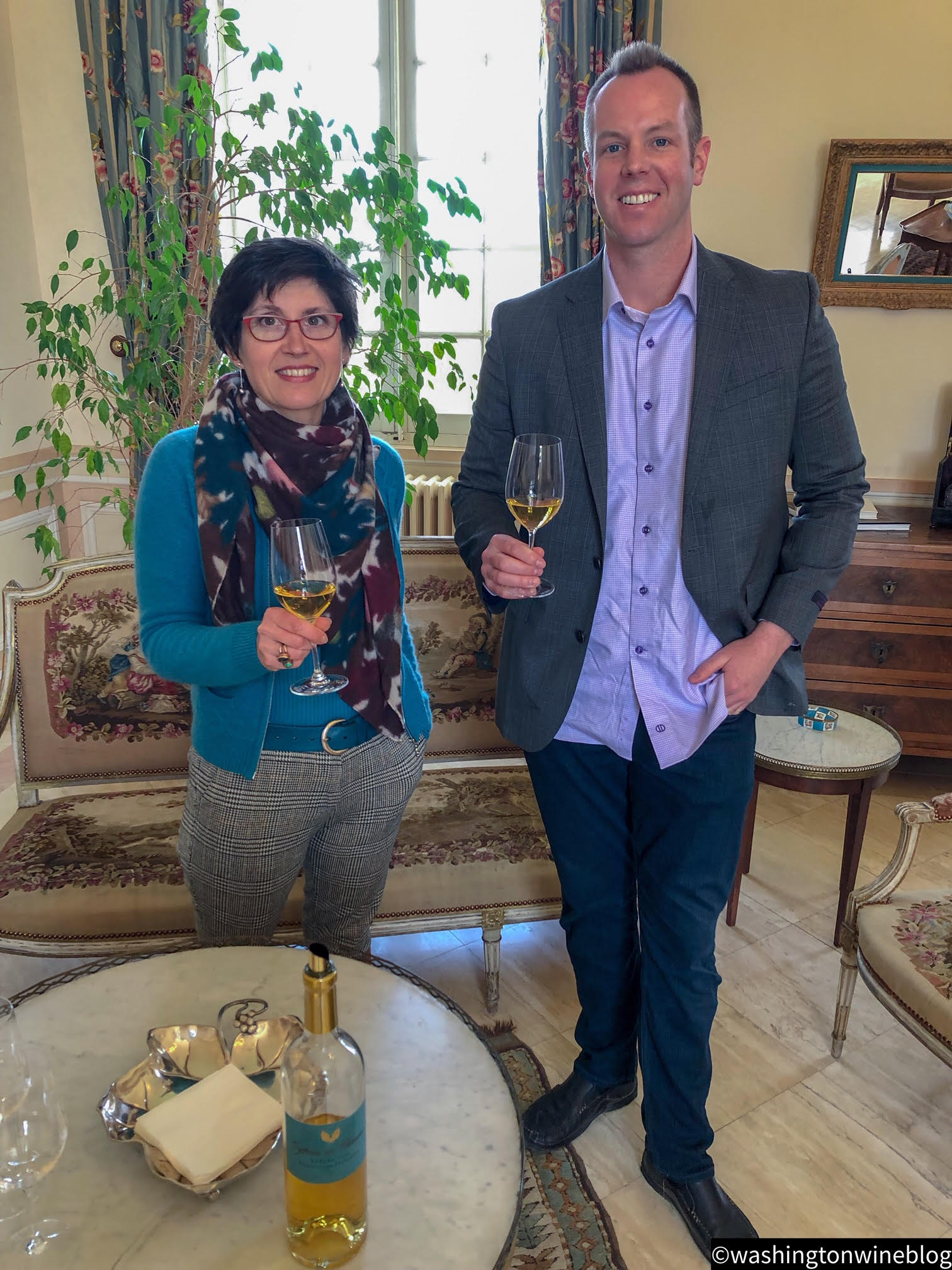 It was a magical day visiting one of the great wineries of the world, Chateau Climens and the talented Berenice Lurton.
