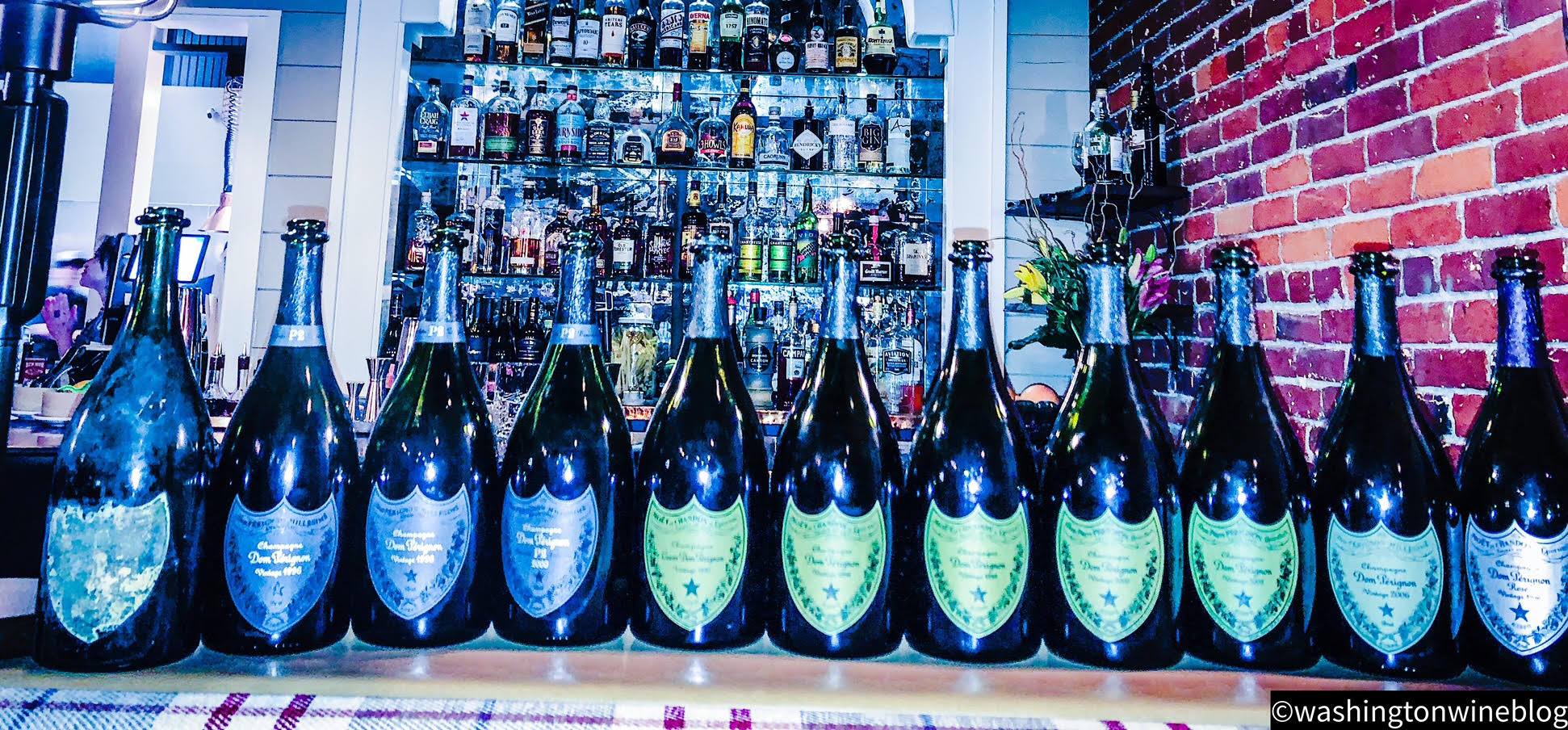 It was a magical tasting with a few of my friends as we sampled some sensational older bottles of Dom Pérignon.