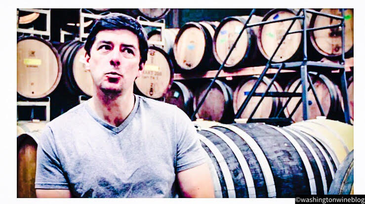 Great photo of Marcus Goodfellow, the talented winemaker at his namesake winery.