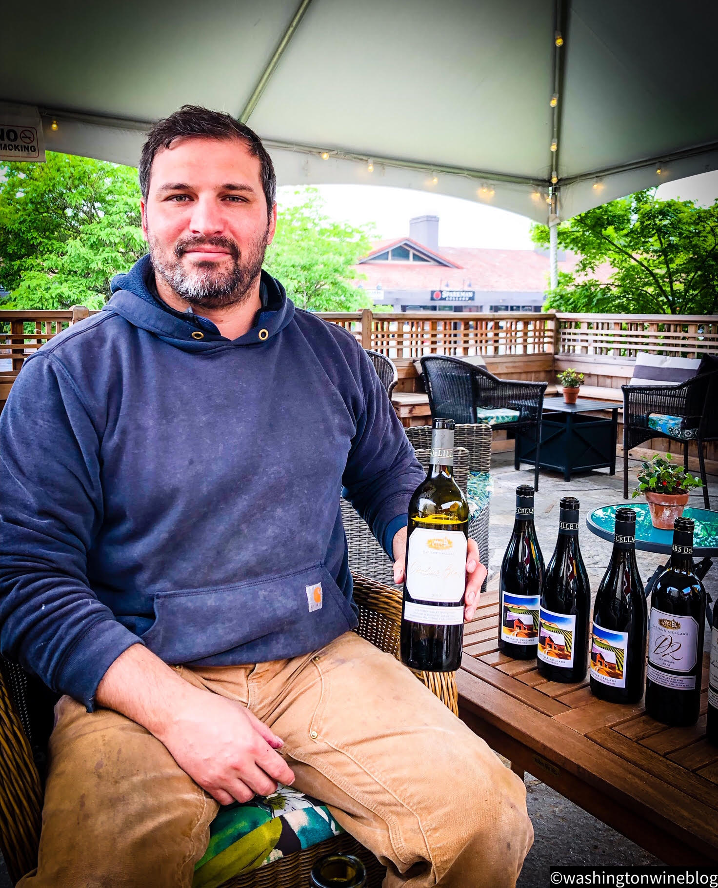Here we have the talented Jason Gorski with his DeLille Cellars new lineup of wines.