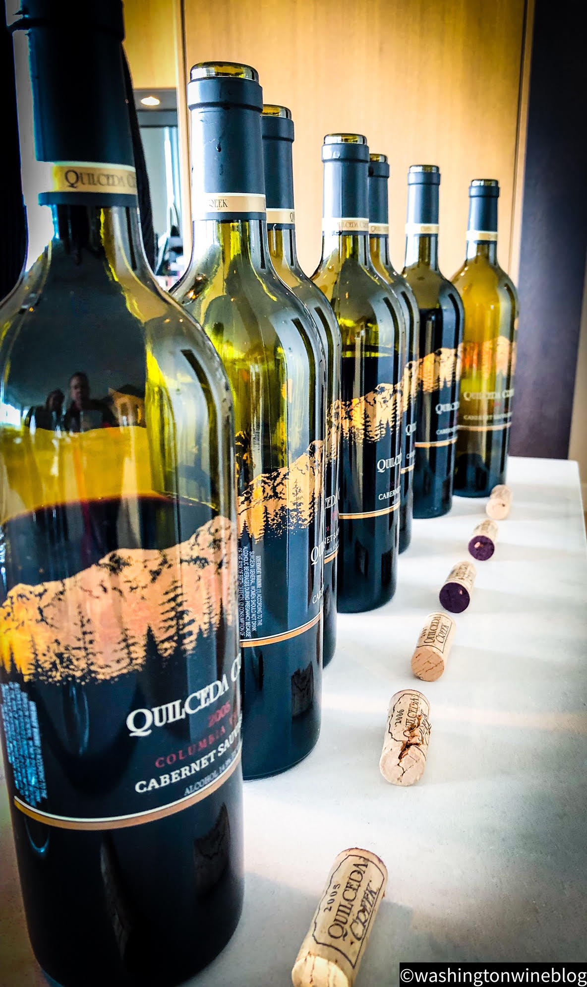 It was a magical tasting of Quilceda Creek Cabernet Sauvignon from the 2004-10 vintages.