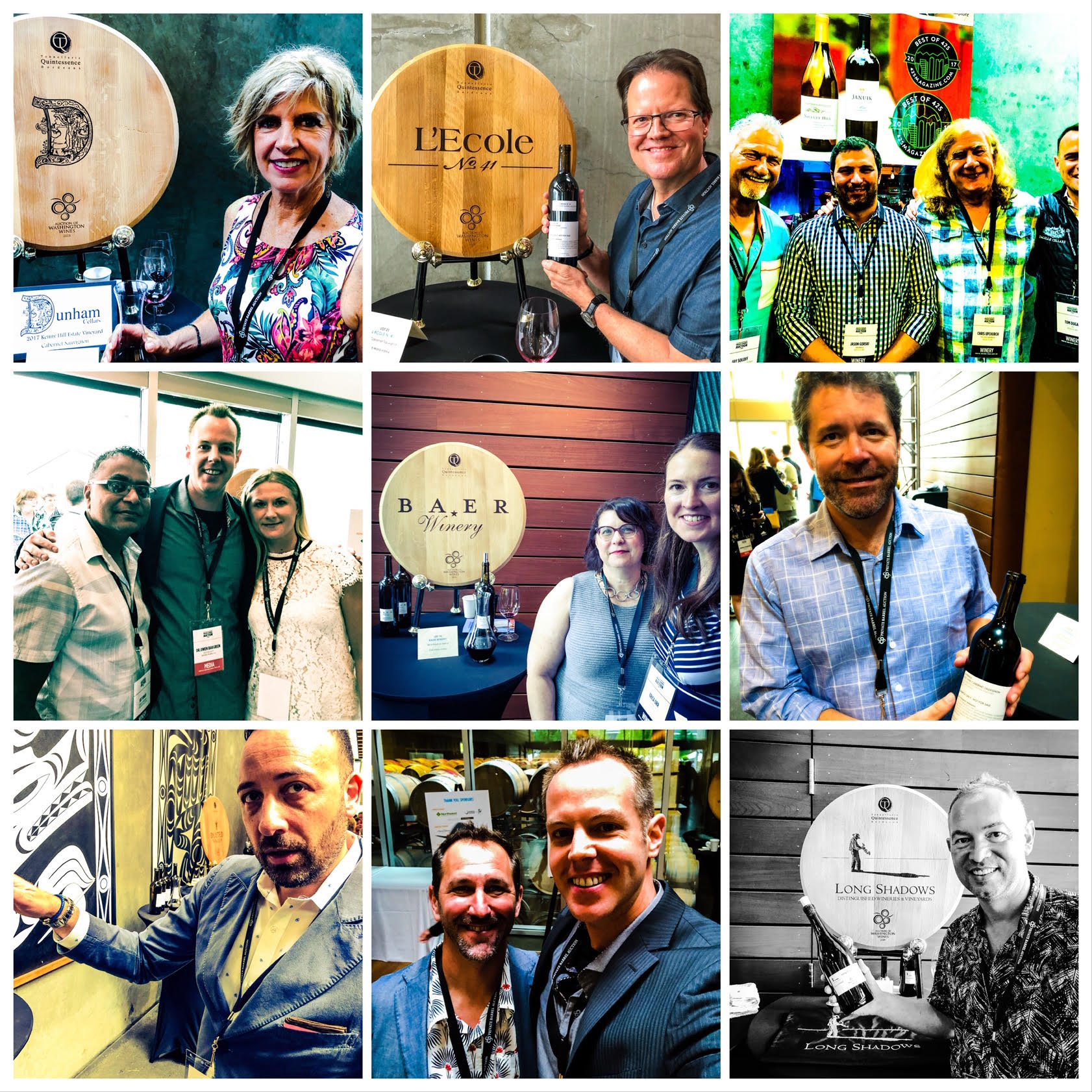 The many wonderful faces of Washington wine will be on hand this weekend for the big Auction of Washington Wines weekend in Woodinville.