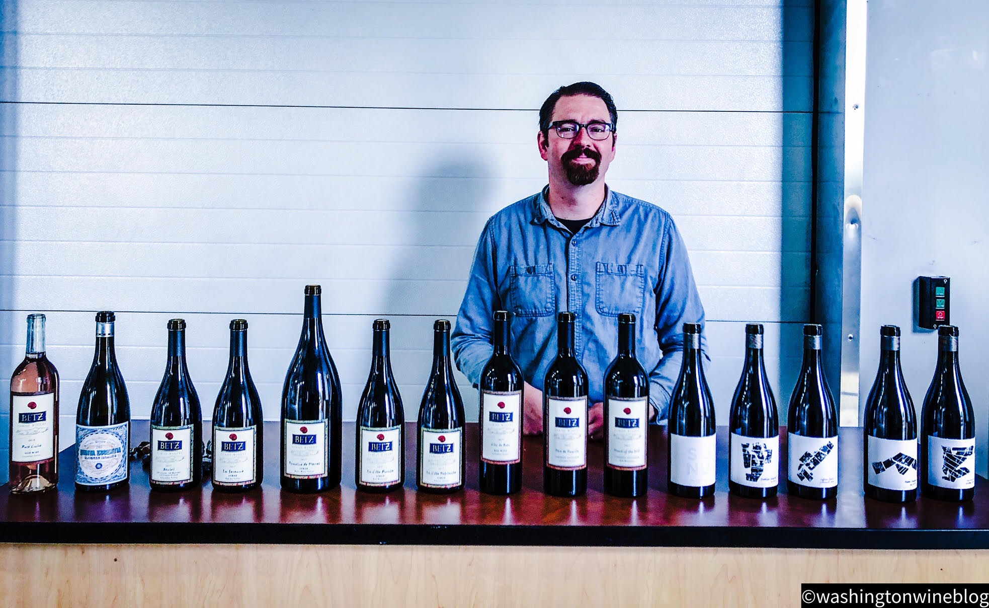 Louis Skinner has crafted an outstanding new lineup of wines for Betz Family Winery.