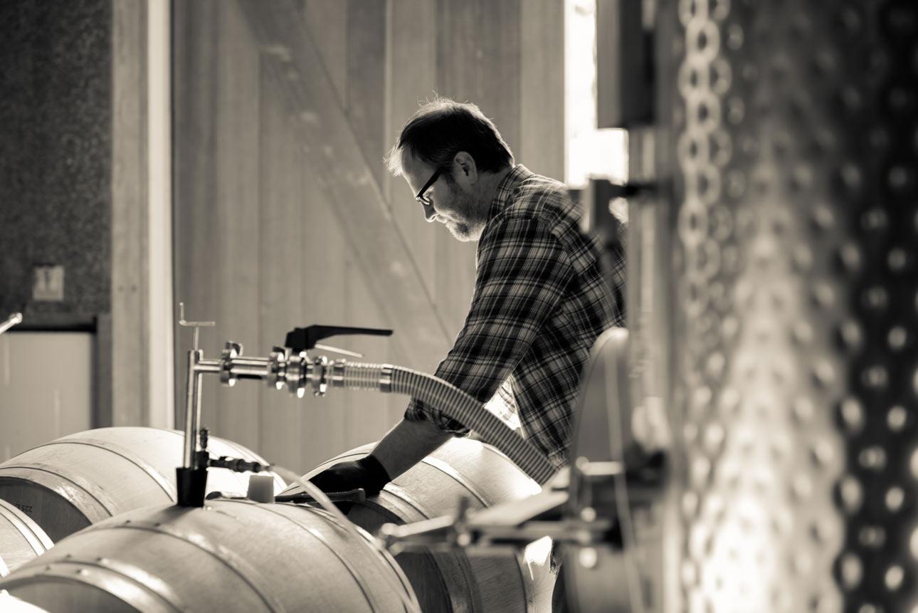 Dan Petroski is the talented winemaker for Larkmead Vineyards.