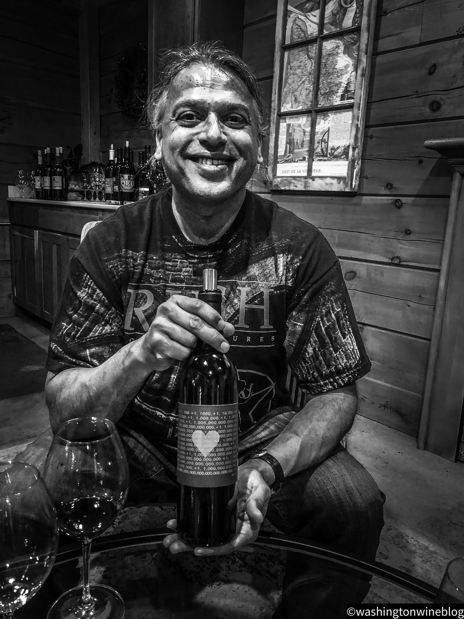One of the brilliant minds of Washington wine, Billo Naravane, MW, crafts. some stunning wines for Rasa Vineyards.