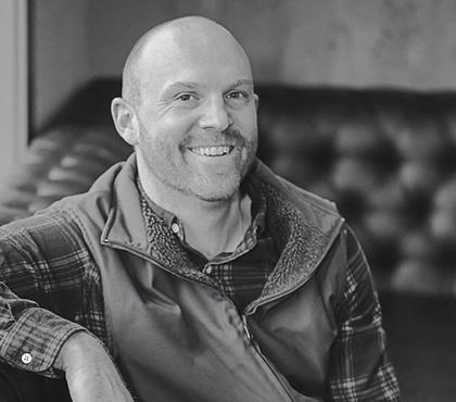 Shane Moore is the talented winemaker at the helm of Zena Crown Vineyard.