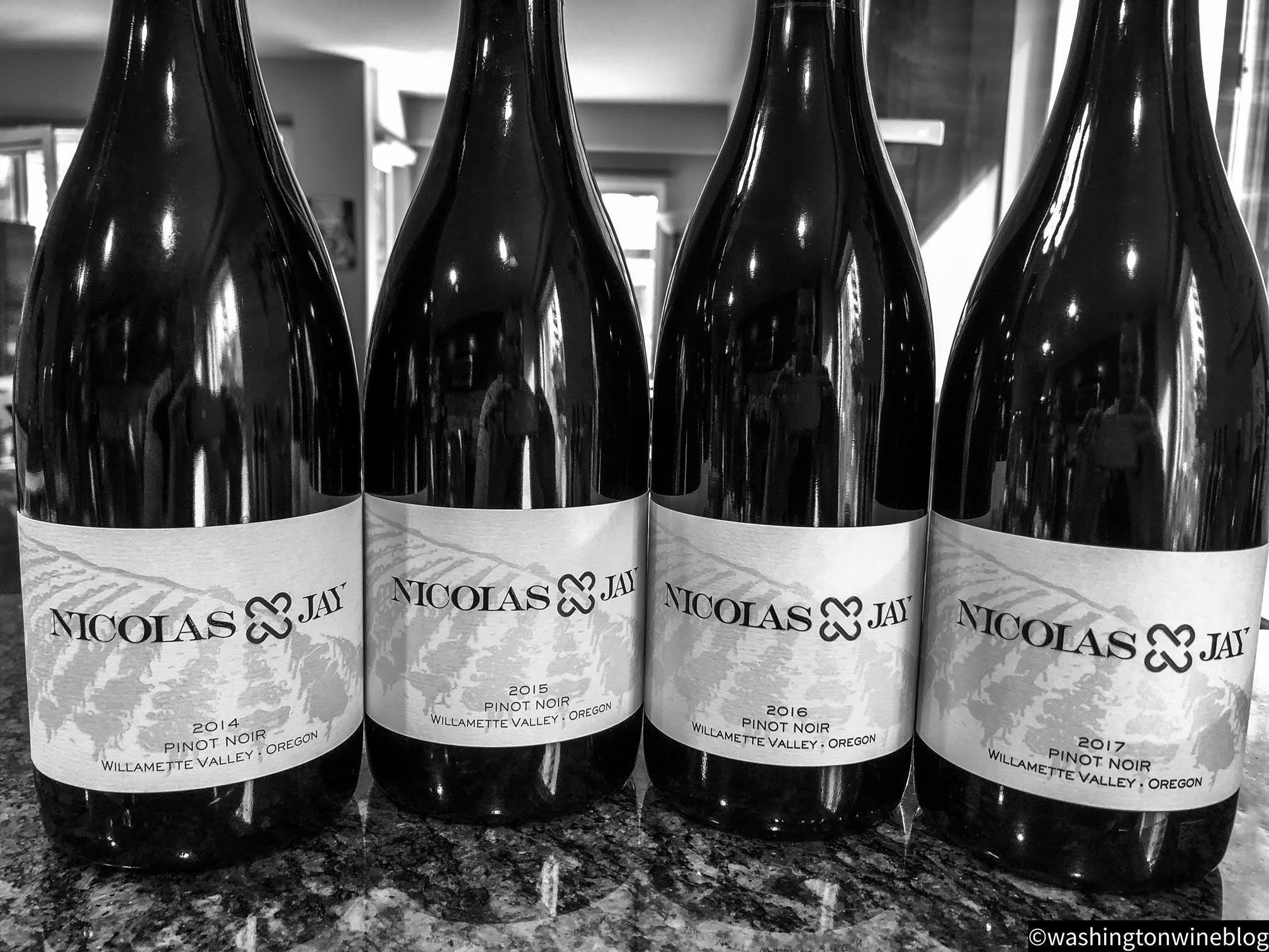 The first four vintages of Nicolas-Jay Pinot Noir have been a resounding success.