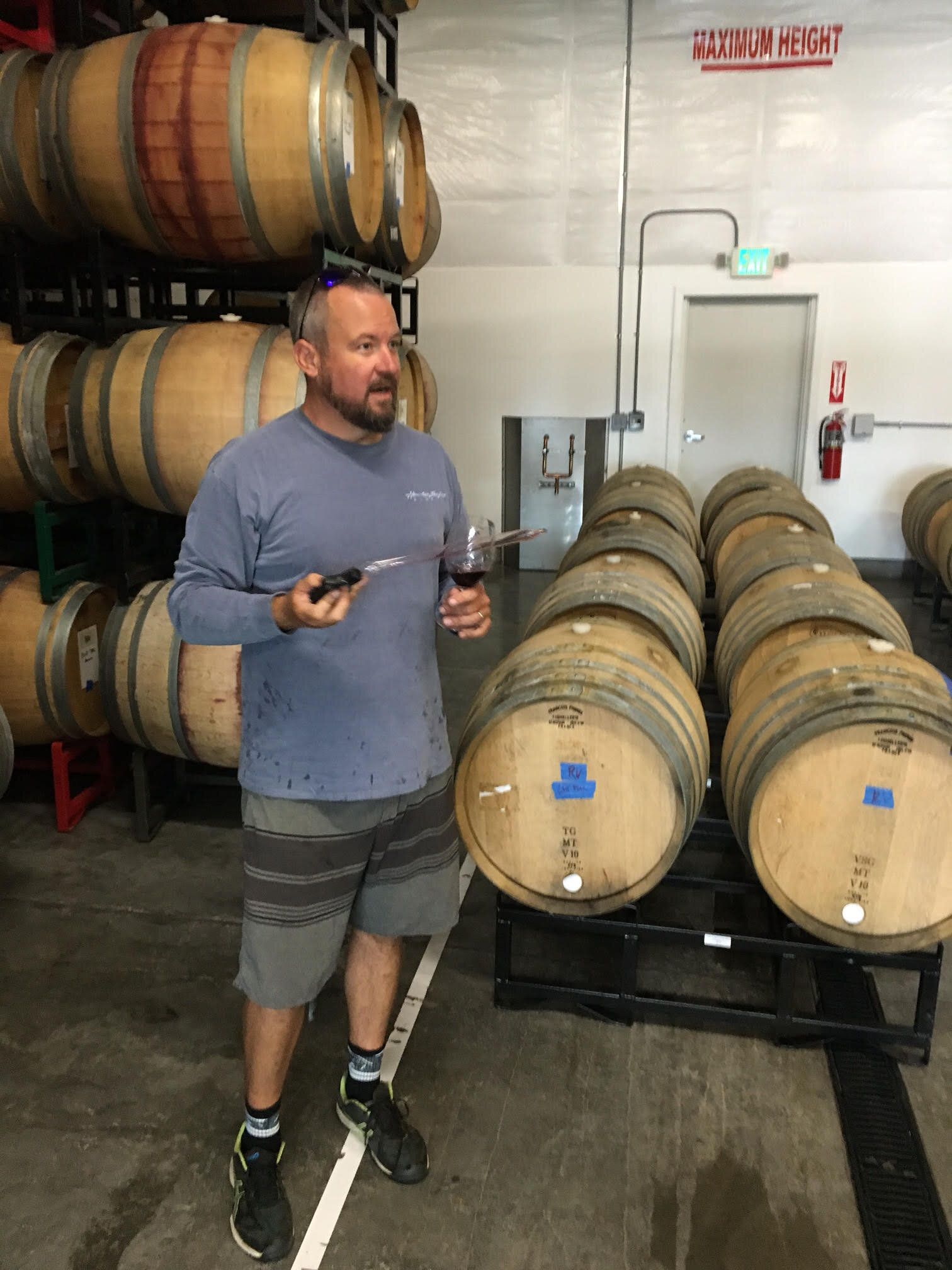 The brilliant Sean Boyd crafts a gorgeous range of wines for his Rotie Cellars.