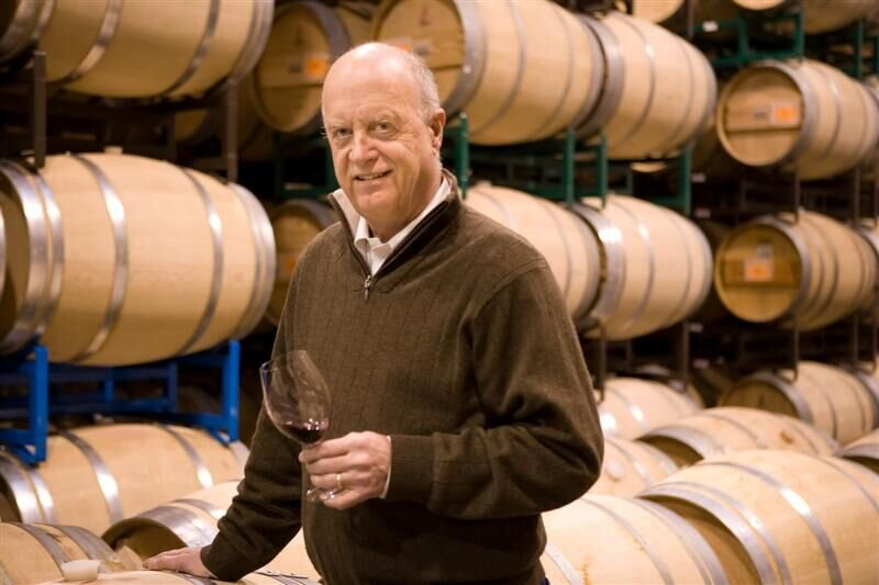 Great photo here of Washington wine icon, Allen Shoup.