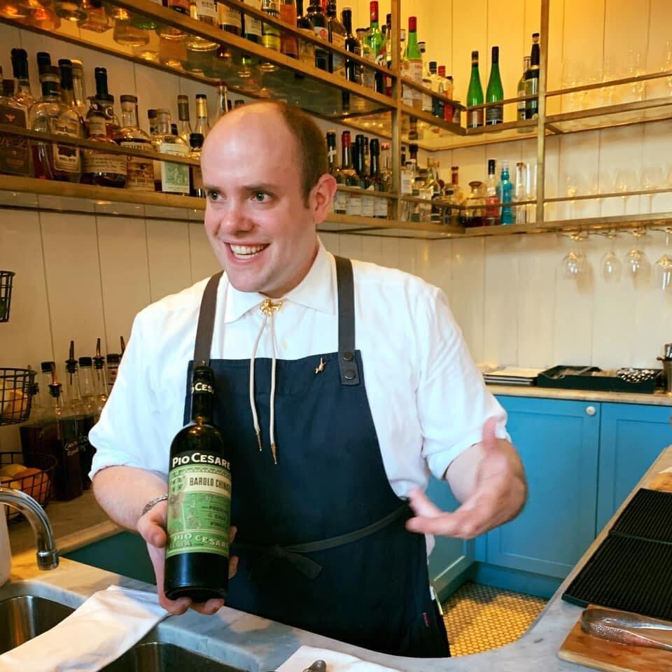 Master sommelier Nick Davis shows his talents at Seattle top restaurant, Bateau.