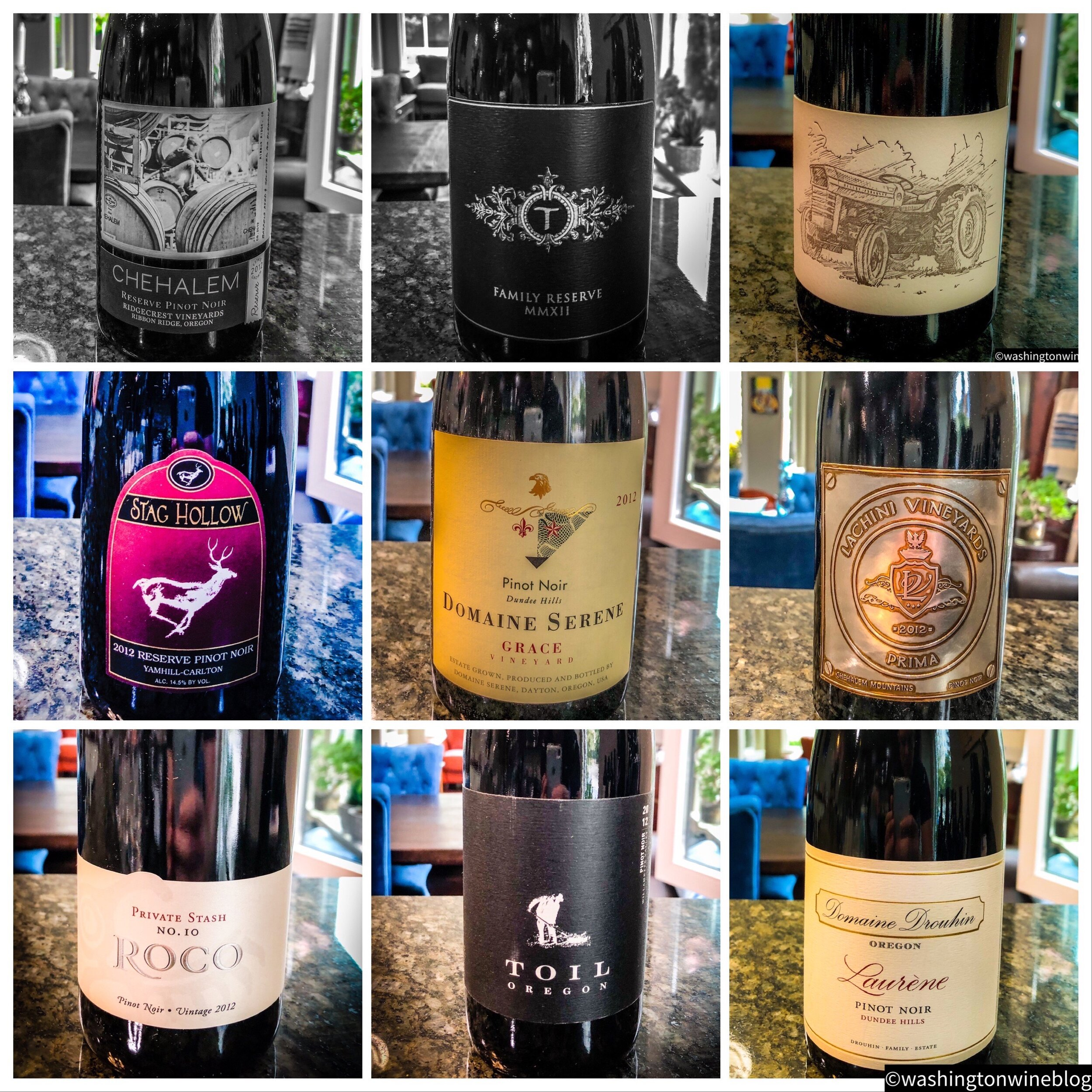Here are some of the top Oregon Pinot Noirs from the thrilling 2012 vintage.