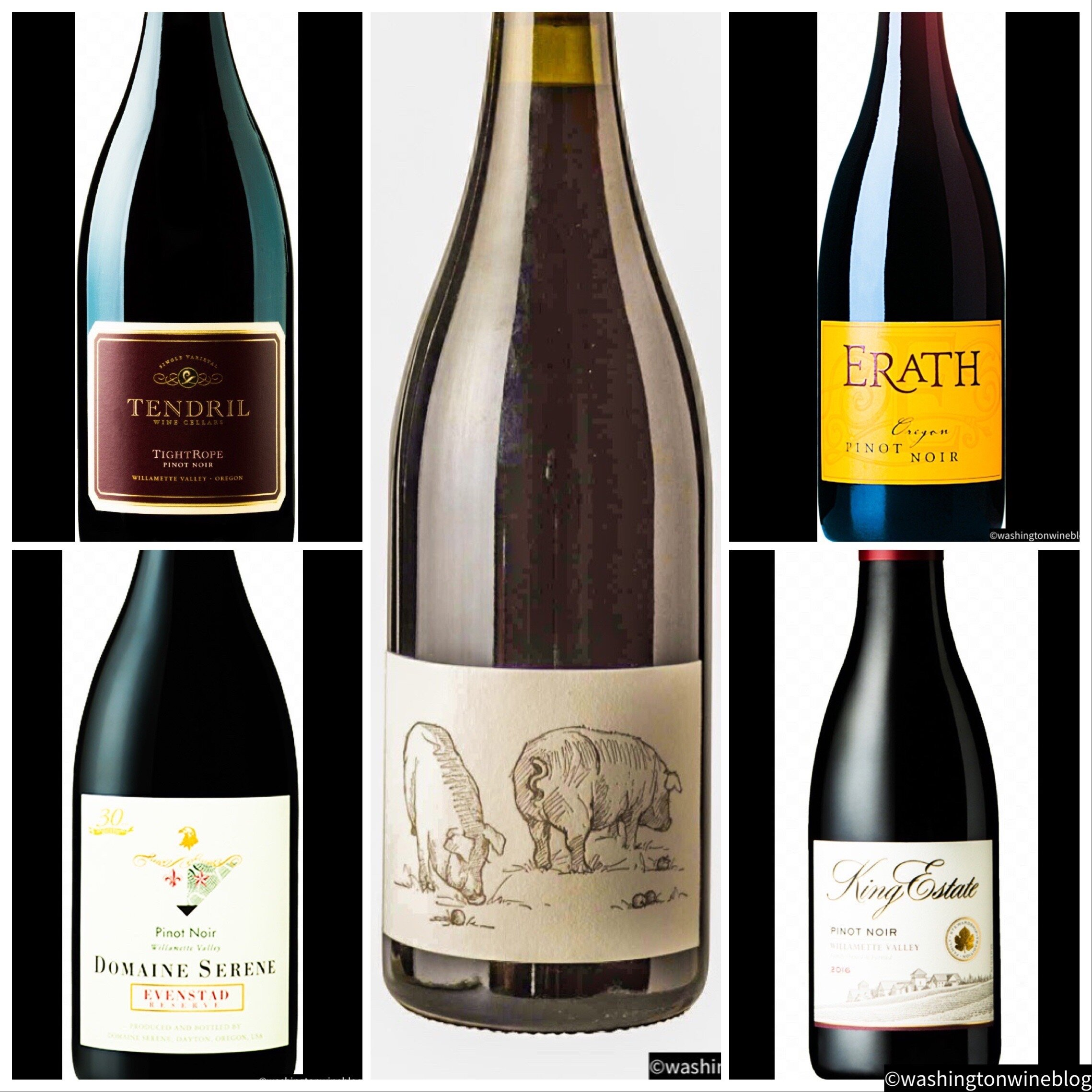 Here are a few of the many recommended Oregon Pinot Noirs to serve at your Thanksgiving table.