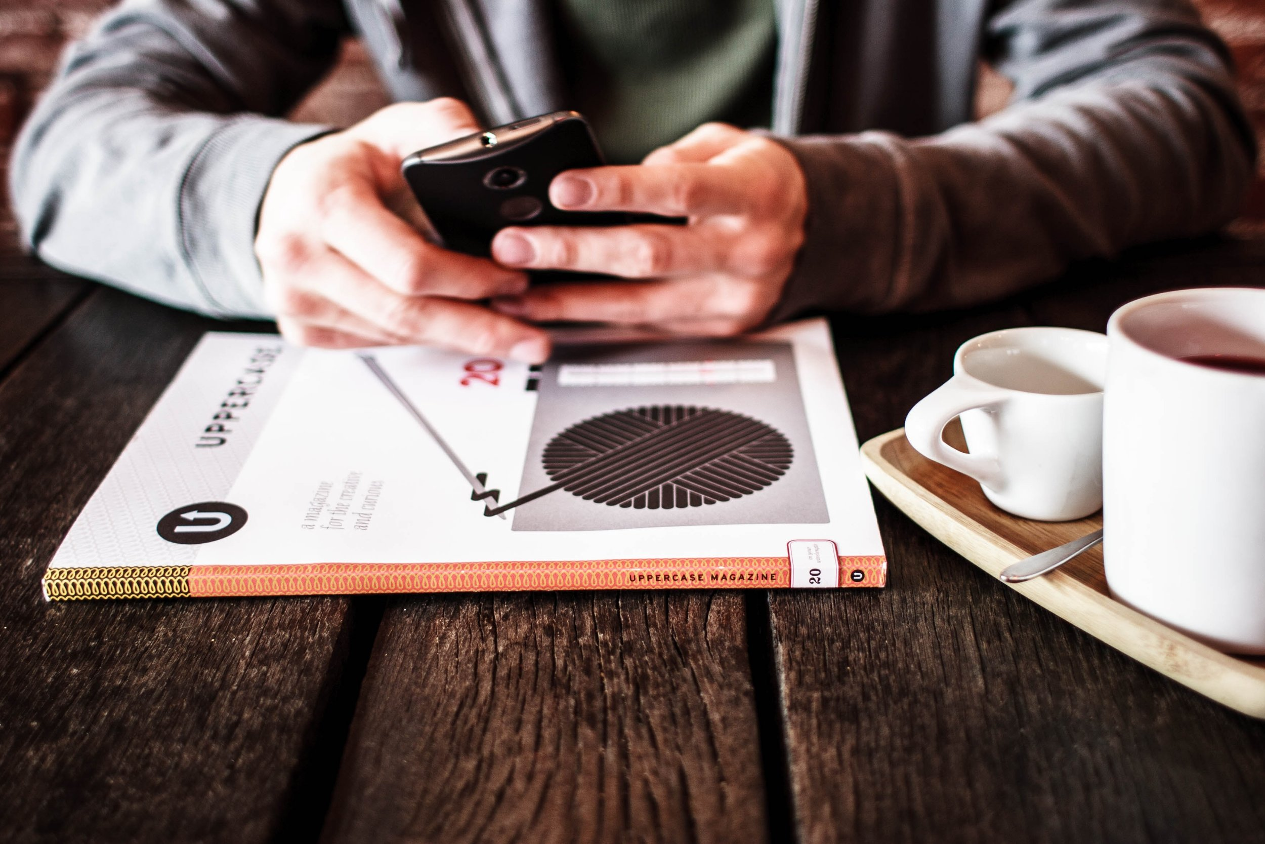 Pick up your phone and do these three things after reading this blog post.