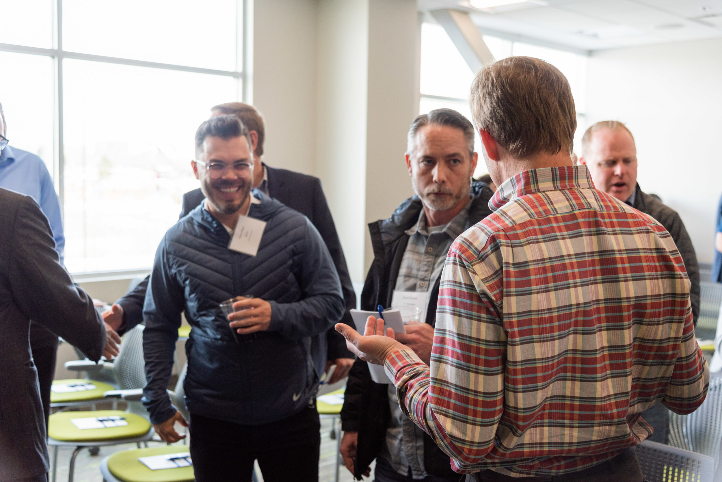 Focus on genuinely getting to know people when you network.