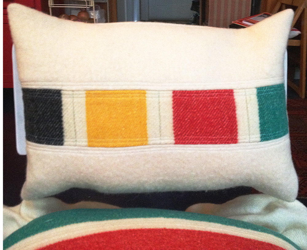 Hudsons Bay blanket pillow.jpg