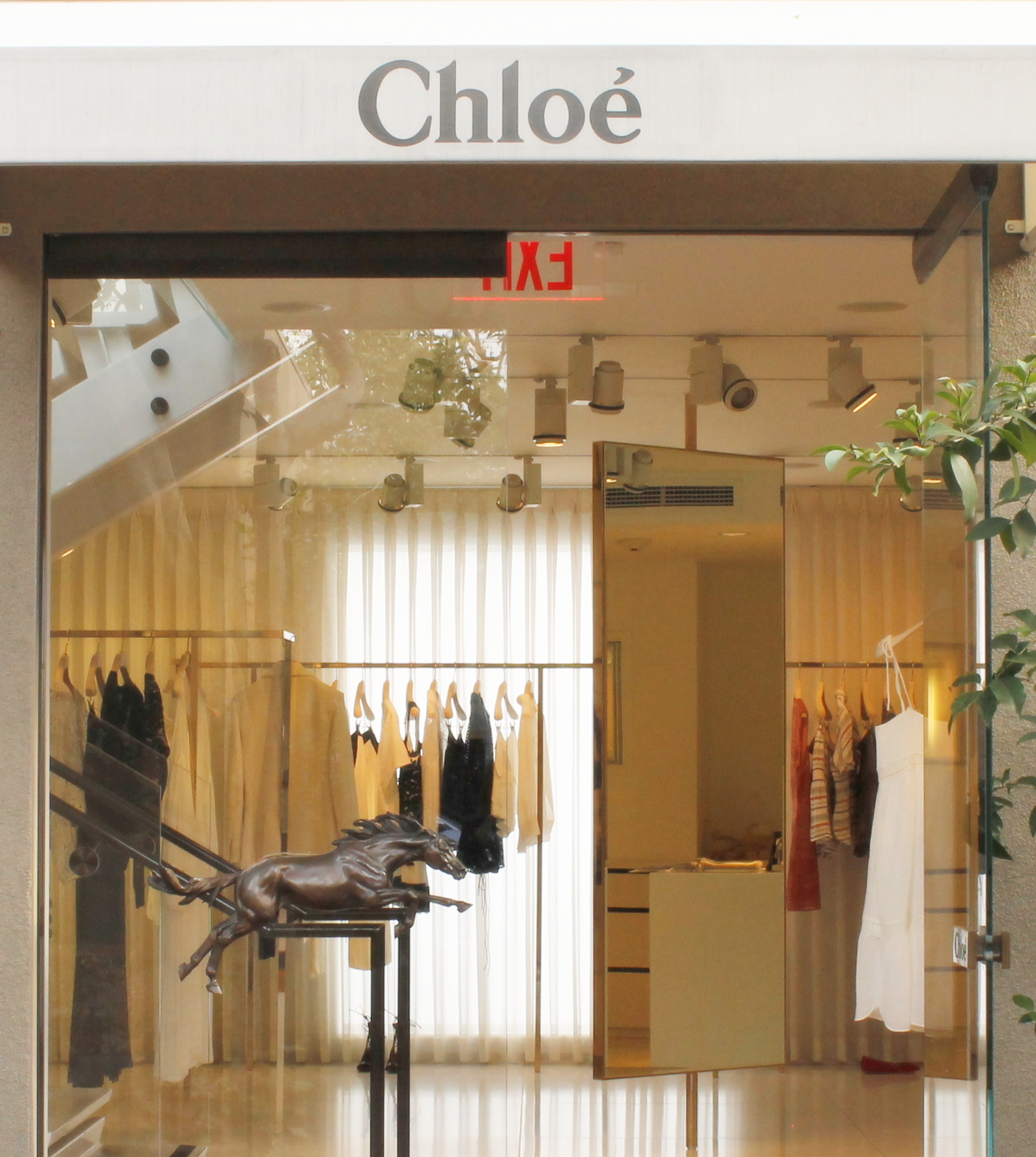 Chloe boutique on Melrose Avenue, Los Angeles, California