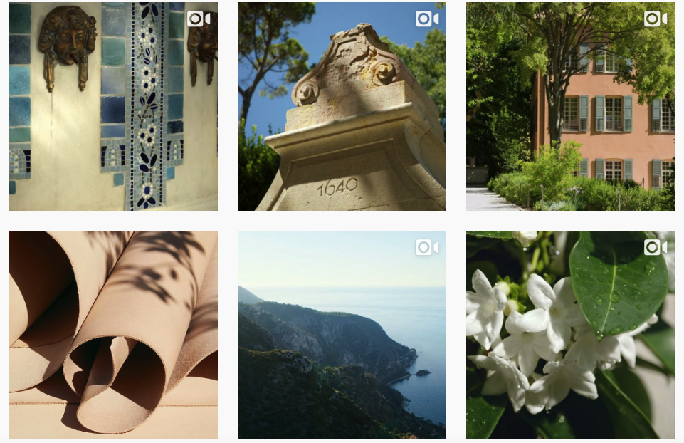 Louis Vuitton Fragrance Instagram video campaign