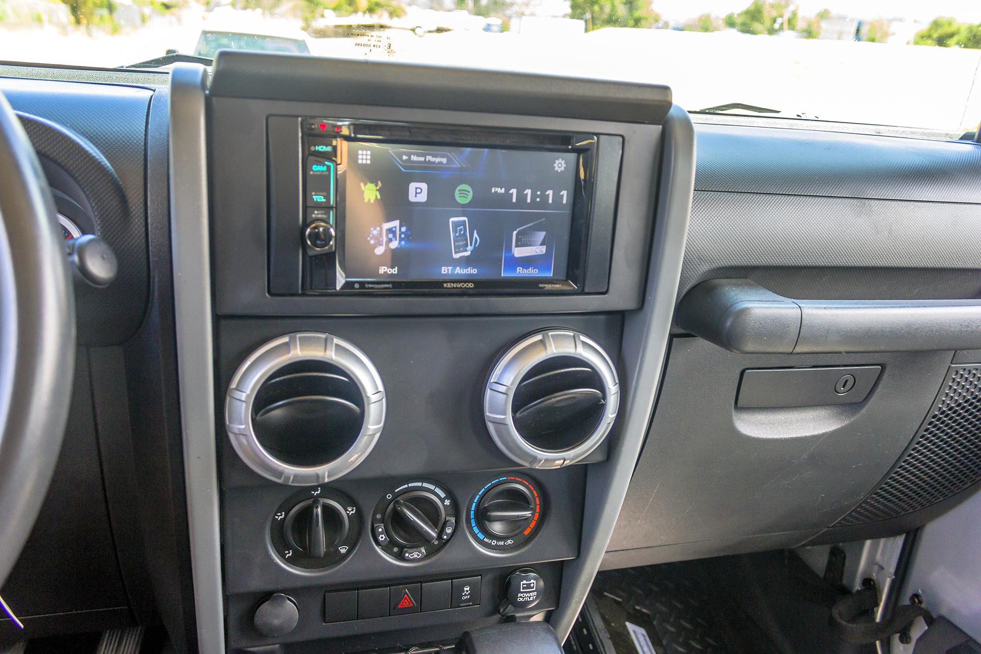 2010 Jeep Wrangler DDIN Install — Twelve Volt TechnologiesTwelve Volt Technologies