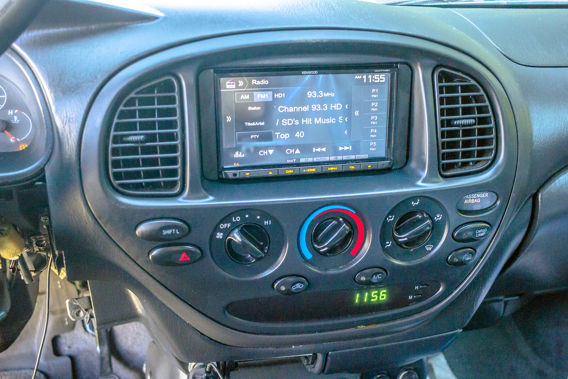This 2006 Toyota Tundra adds a new Touchscreen and a Backup ... Kenwood Wiring Harness on kenwood instruction manual, kenwood ddx6019, kenwood power supply, kenwood remote control, kenwood wiring-diagram,
