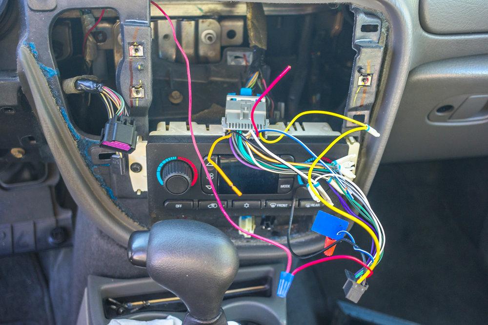 2004 Chevrolet Trailblazer updates his radio! — Twelve Volt Technologies | Chevrolet Trailblazer Radio Wiring |  | Twelve Volt Technologies
