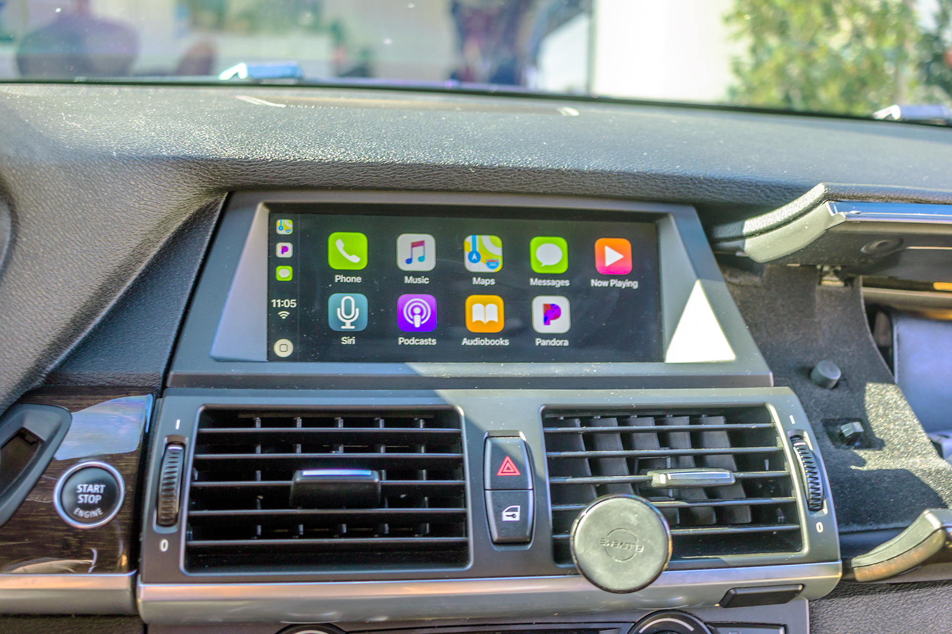 This Customer Had Us Add Apple Carplay To The Oem Display In His E70 Twelve Volt Technologies