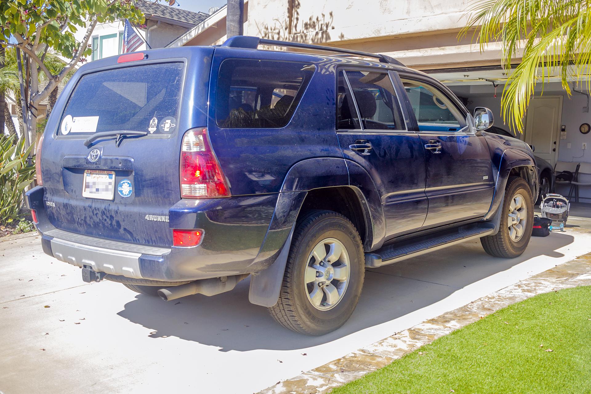 2003 Toyota 4runner Gets An Alpine Radio Twelve Volt Technologies