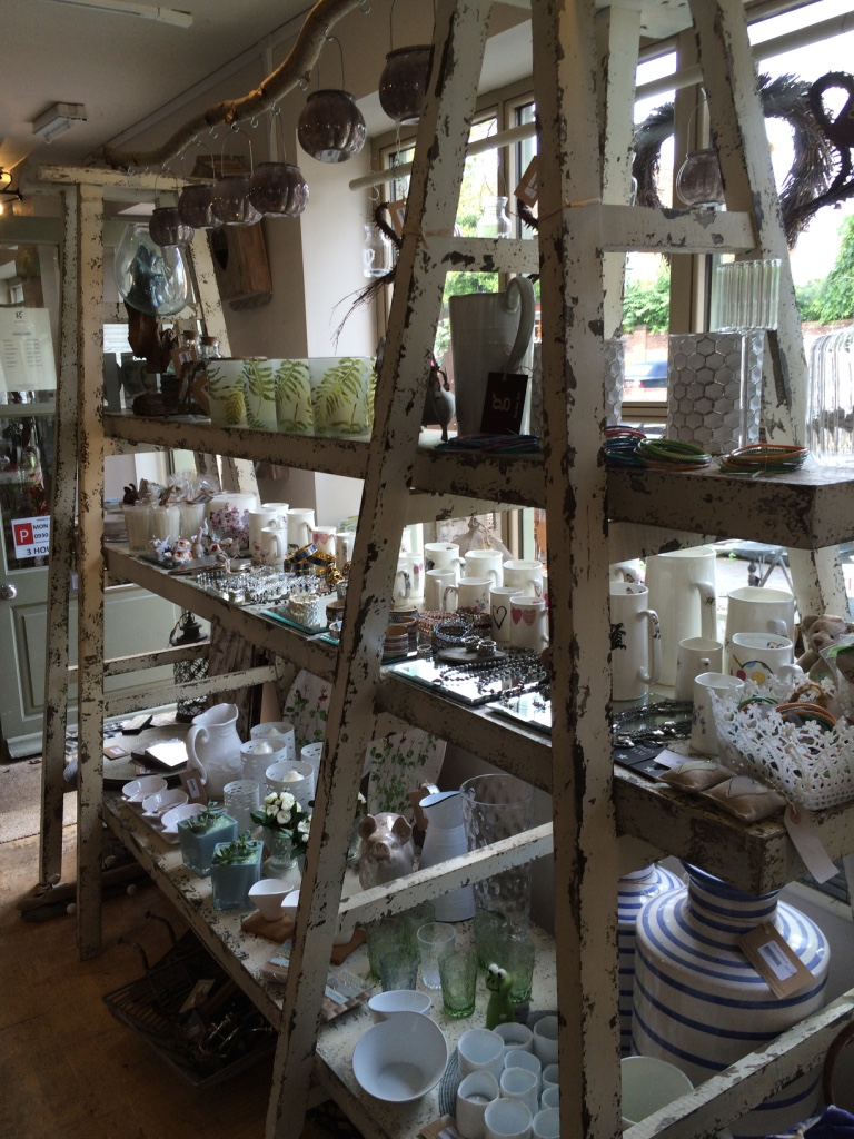 An array of items still for sale in the Garden Nursery.