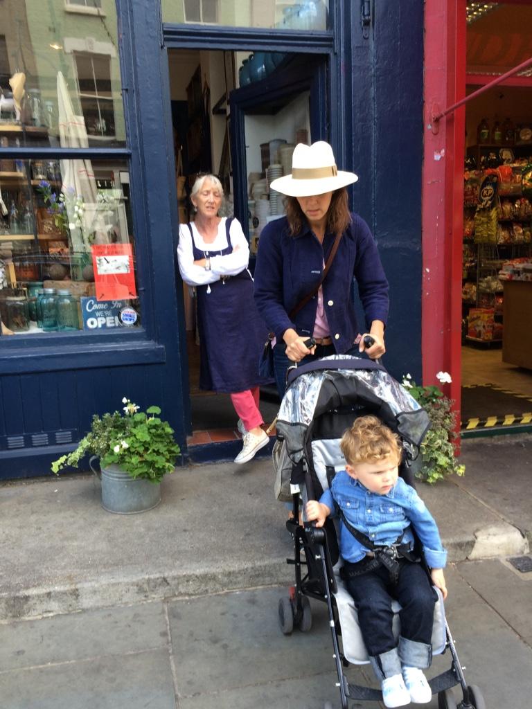 Goodbye to Aunt Alex, Tamara & her dear boy Jack - till next time I shop there.