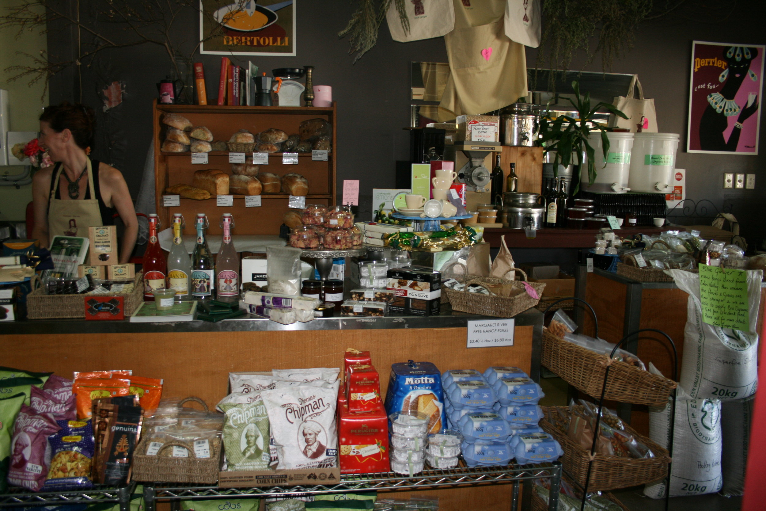 I found this photo of a very delightful food store.....more of these on the trip....